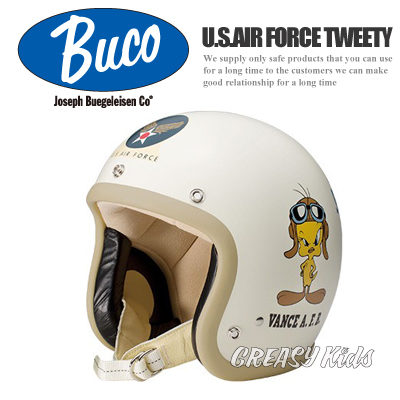 BUCO �W�F�b�g�w�����b�g �X���[���u�R U.S.AIR FORCE TWEETY